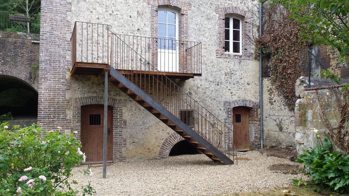 Rénovation de la maison, aménagement terrasse
