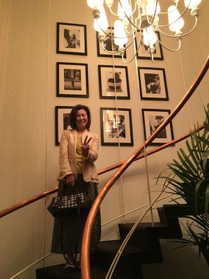 26階から27階へあがるsweetRoom室内の螺旋階段で(ღˇᴗˇ)。o♡