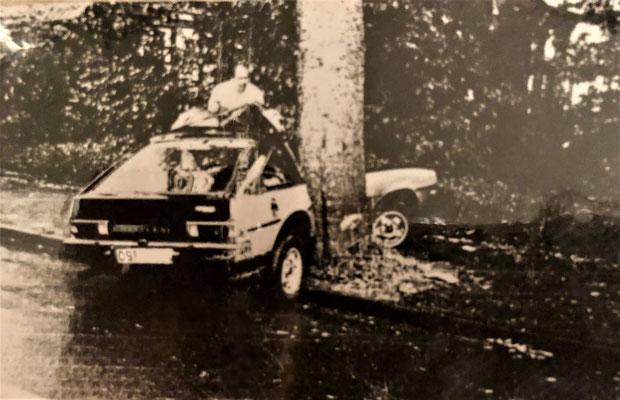 Polizeifoto meines zweiten Autos