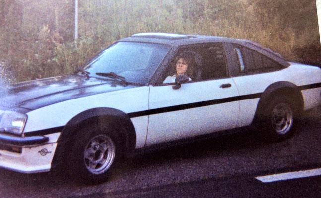 Opel Manta GTE, das Auto mit dem Claudia mich kennenlernte