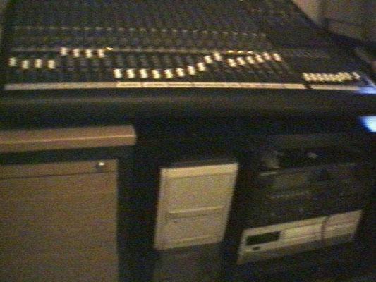 Ein Teil meiner damals noch vorhandenen Studioausrüstung