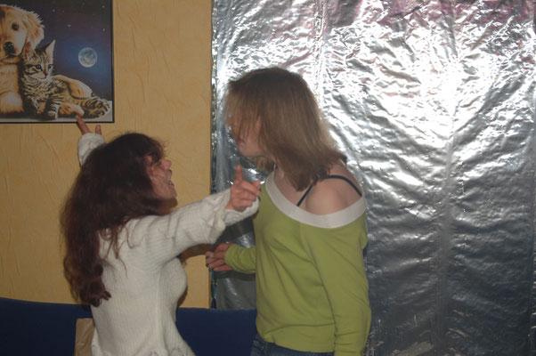 Mein Engel und ich beim abzappeln