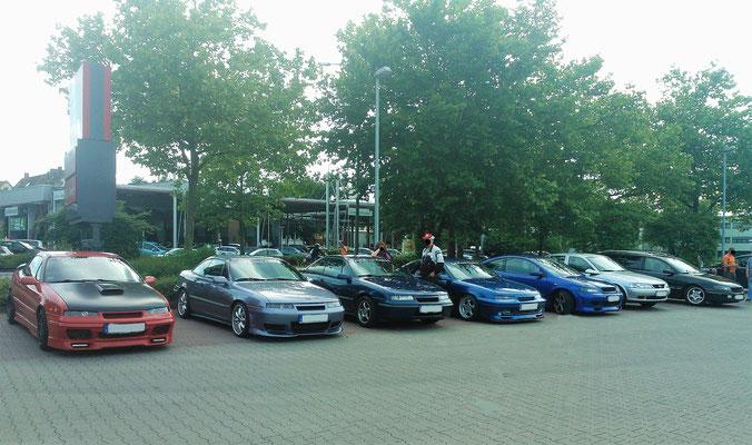 Treffen an der Rennmeile in Osnabrück