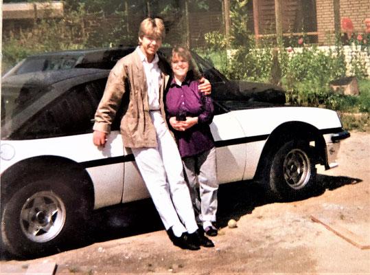 Unser Manta, Claudia liebte dieses Auto.