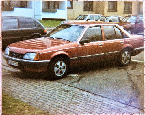 Opel Rekord - Unsere Familienkutsche