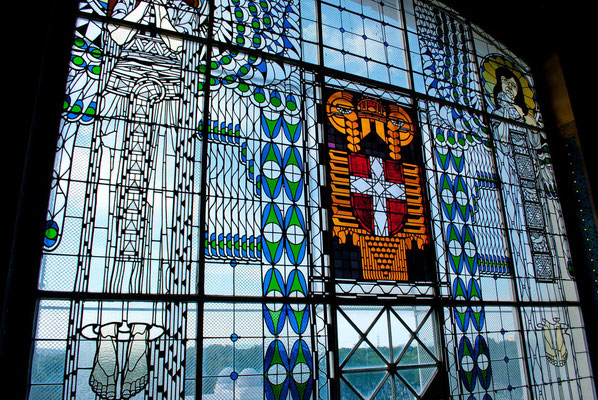 Fenster gestaltet von Leopold Forstner