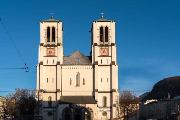 Andräkirche am Andräplatz beim Schloss Mirabell