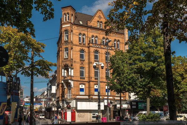 Klinkerfassaden die in Hamburg sehr häufig zu sehen sind