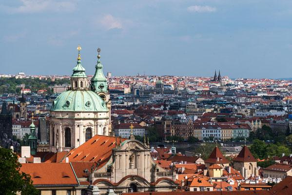 """Blick zur wunderschönen """"Goldenen Stadt"""" Prag"""