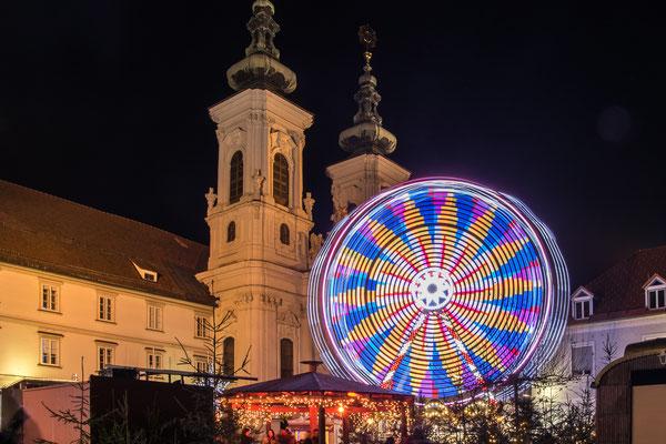 Graz Advent am Mariahilferplatz