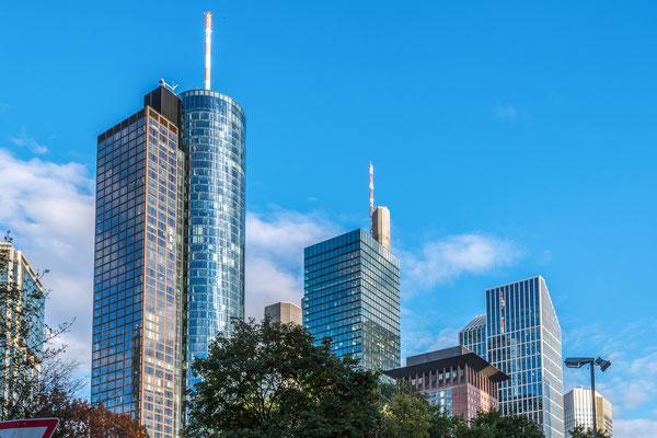 Teil der Skyline Frankfurt
