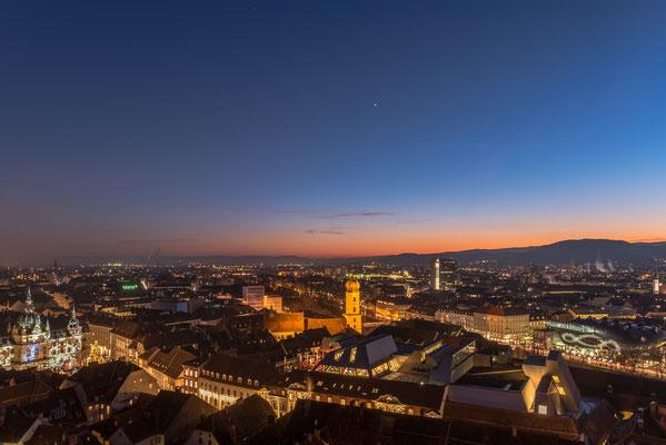 Graz zur Blauen Stunde