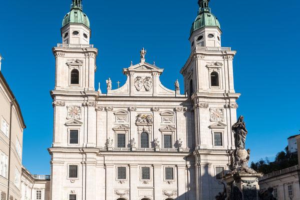 Der Salzburger Dom ist die Kathedrale der römisch-katholischen Erzdiözese Salzburg.