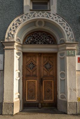 Eingangsportal Heinrichstraße 54 Graz