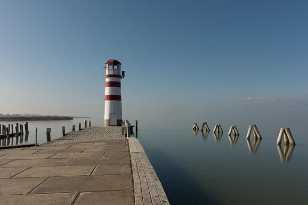 Leuchtturm in Podersdorf am See