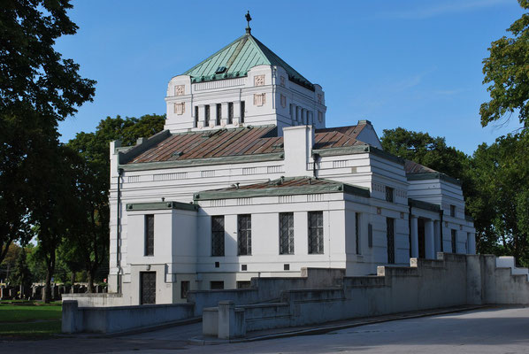 Bestattungsmuseum am Wiener Zentralfriedhof nach Max Hegele