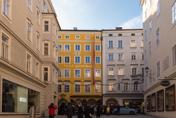 Wolgfang Amadeus Mozart Geburtshaus