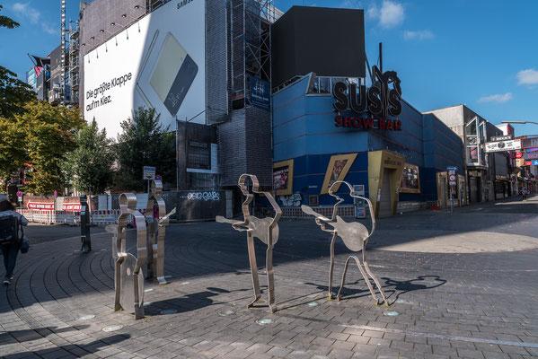 Die Beatles auf St. Pauli