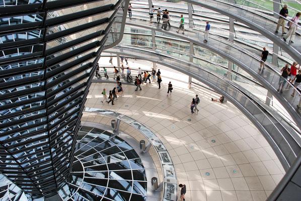 Kuppel Reichstagsgebäude Bundestag  Berlin