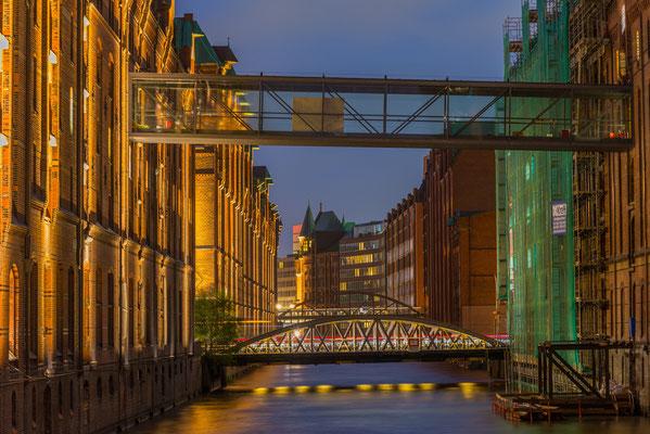 Kanal, (Fleet) Speicherstadt