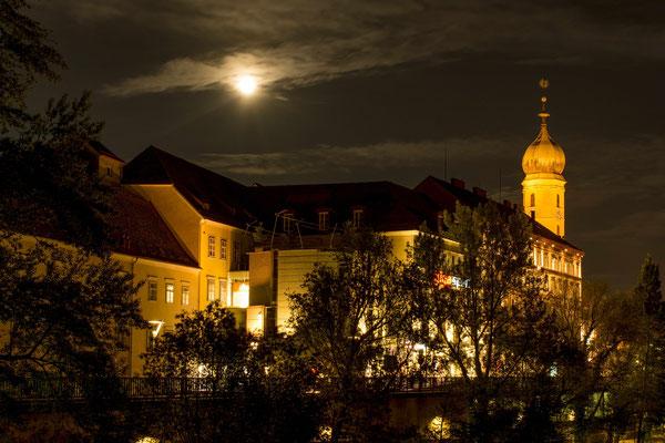 Vollmondnacht in Graz