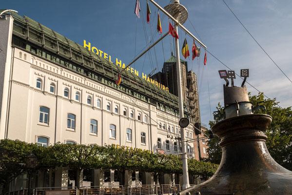 Hotel Hafen, meine Unterkunft direkt am Hafen