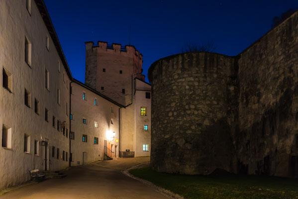 Gelände innerhalb der Festung Hohensalzburg