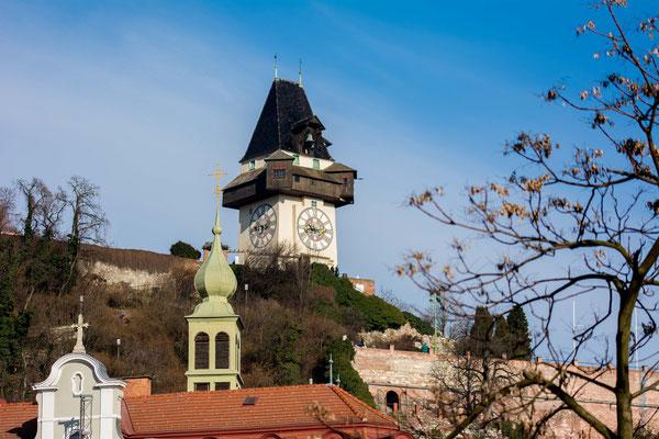 Graz Der Schlossberg - Uhrturm