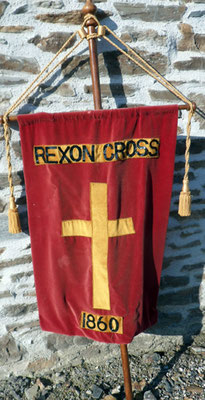Banner carried in processions
