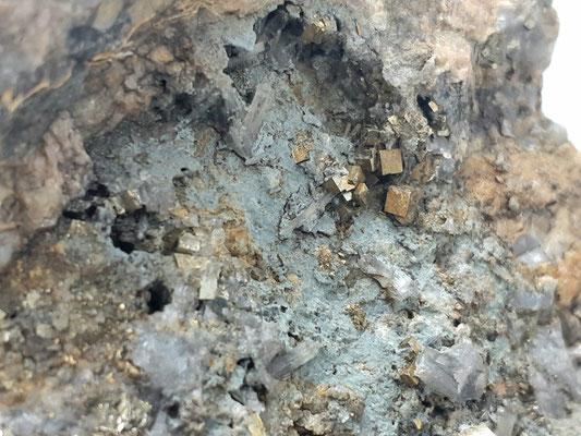 Pyrit Würfel