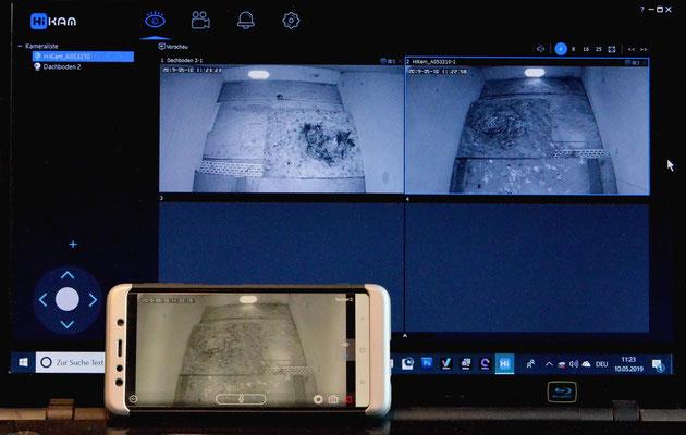 PC- Software und Android Version für Smartphone