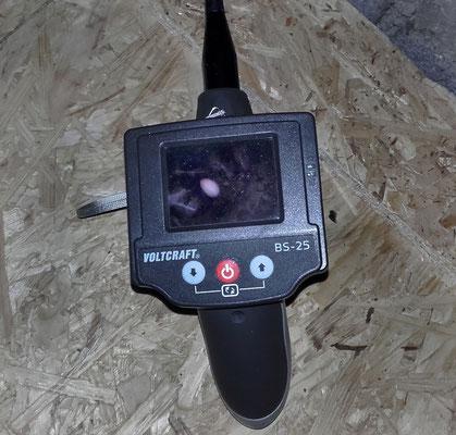 Donna´s Nest ist nur über die Inspektionscam zu kontrollieren