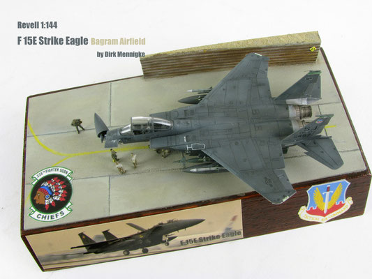 F 15E Strike Eagle Bagram Airfield 1:144 Revell by Dirk Mennigke