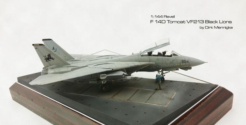 F 14D Tomcat VF213 Black Lions 1:144 Revell by Dirk Mennigke