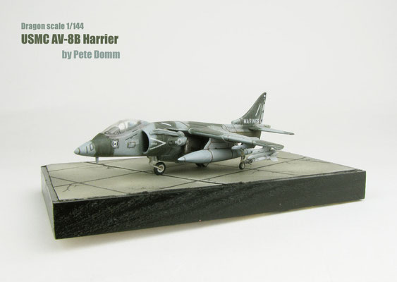 AV-8B Harrier Dragon 1/144 by Pete Domm