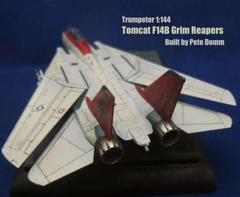 F 14B Tomcat Grim Reapers 1:144 Trumpeter by Pete Domm