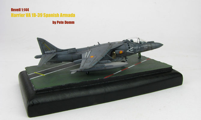 Harrier VA 1B-39 Spanish Armada 1:144 Revell by Pete Domm
