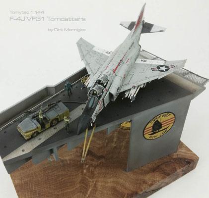 F-4J Phantom VF31 Tomcatters Tomytec 1:144 by Dirk Mennigke