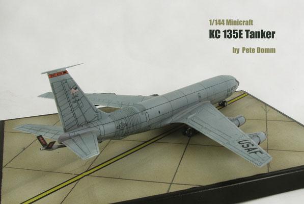 KC 135E Tanker 1/144 Minicraft by Pete Domm