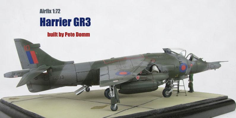 Harrier GR3 1:72 Airfix by Pete Domm