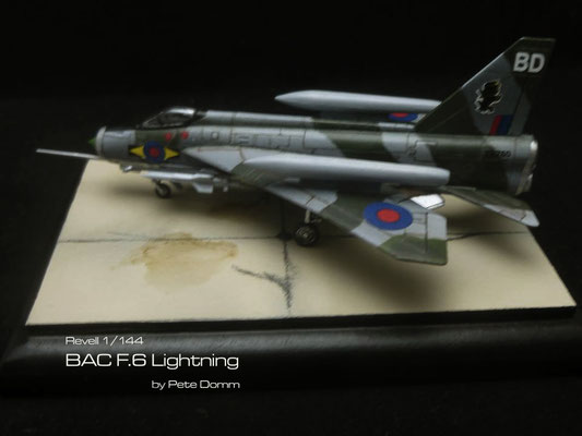 BAC F.6 Lightning 1:144 Revell by Pete Domm
