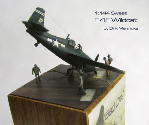 "F 4F Wildcat ""Bad Day"" 1:144 Sweet by Dirk Mennigke"