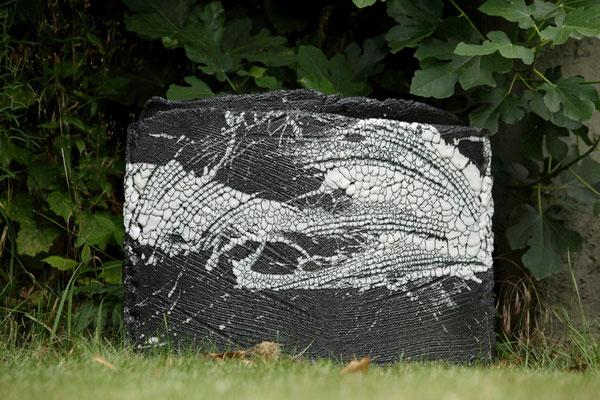 Le mur - 50 x 70 cm (vendu)