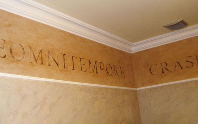 Schablonenfolie für Malerarbeiten - Wandtattoo