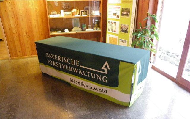 Biertisch-Hussen für das Amt für Landwirtschaft und Forsten