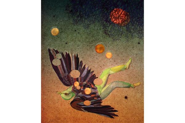 Covergestaltung von Elodie Bouedec von ‹Colomb de la lune›...