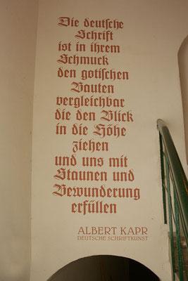 Wandbeschriftungen Wohnhaus Görlitz