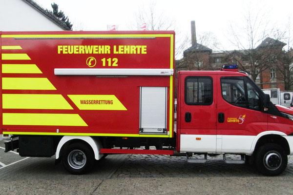Fahrzeugbeschriftung für Feuerwehr Lehrte