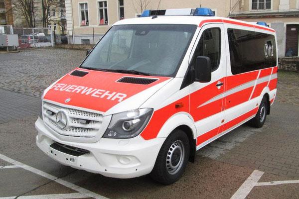 Fahrzeugbeschriftung für Brandschutztechnik Görlitz