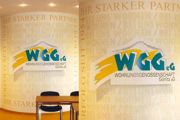 Gestaltung Aufenthaltsraum der Wohnungsbaugesellschaft Görlitz